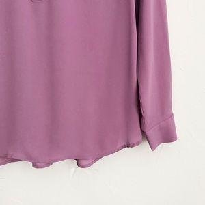 Ann Taylor Tops - Ann Taylor Pink Button Down Blouse Size Small